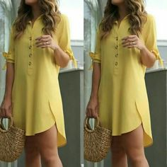 Asymmetrical Mustard dress A line dress for women Autumn dress Spring dress Evening Party dress Cocktail dress mustard yellow Occasion dress - Her Crochet Curvy Outfits, Chic Outfits, Hijab Stile, Casual Dresses, Fashion Dresses, Dress Shirts For Women, Fashion Sewing, African Fashion, Maxi Dresses