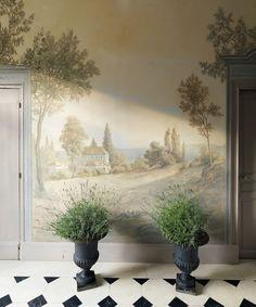 Atelier Pascal Amblard . Peintures murales / Murals .