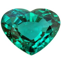 Natural Tourmaline step cut heart, 8.1cts. More @ www.multicolour.com and #gemstones