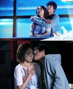 Heartstrings - Jung Yonghwa and Park Shin Hye  I wished they had more love action in this drama. Like please no awkward kisses... PSH KISS BACK.