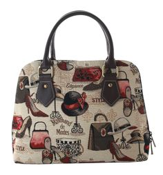 Boutique Tapestry Convertible Bag £23.99