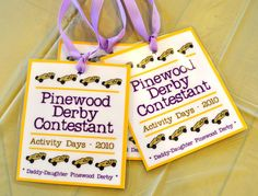Pinewood Derby ideas for GIRLS