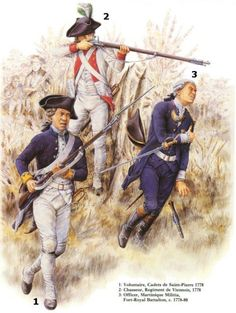 The French Army in the American War of Independence. Many still do not give the French enough credit for the eventual success of the American Revolution. American Revolutionary War, American War, American History, Military Art, Military History, Military Uniforms, Seven Years' War, American Independence, French History