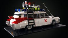 Lego Ghostbusters ECTO-1 Car