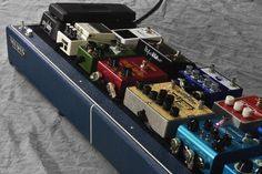 Browse photos of our custom pedalboard builds, circa Handcrafted in Lawrence, Kansas. Guitar Effects Pedals, Guitar Pedals, Lawrence Kansas, Instruments, Pedalboard, Tall Font, Rigs, Troll, Photos