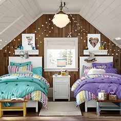 Beadboard Basic Bed + Trundle #pbteen