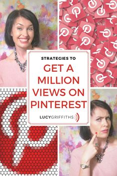 get 1 Million views per month Social Media Tips, Social Media Marketing, Marketing Strategies, Business Marketing, Business Tips, Online Business, Lucy Griffiths, How To Start A Blog, How To Get