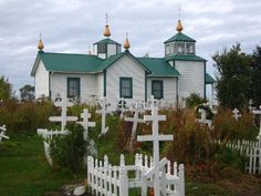 and Farm Russian Orthodox Church near Homer, Alaska Alaska Travel, Alaska Cruise, Canada Travel, Homer Alaska, Anchorage Alaska, Kenai Peninsula, North To Alaska, Alaska Adventures, Living In Alaska