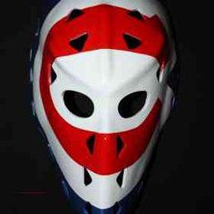 Fiberglass NHL ice hockey goalie mask helmet Montreal Ken DRYDEN HO17