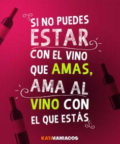 El punto de tener un vino, es amarlo y disfrutarlo!