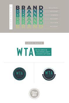 Logo branding identity
