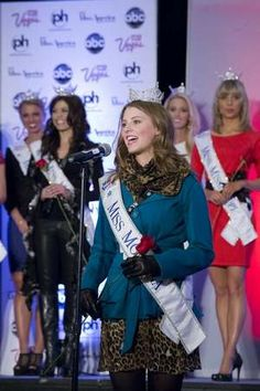 Article - Message of acceptance: 2012 Miss Montana shares her story of overcoming struggles of autism