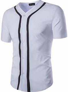 jeansian Men's V-Neck Striped Short Sleeves Polo Tees T-Shirts 84G3 White S jeansian http://www.amazon.com/dp/B01EJ8BAHK/ref=cm_sw_r_pi_dp_lVYfxb1FFHDJX
