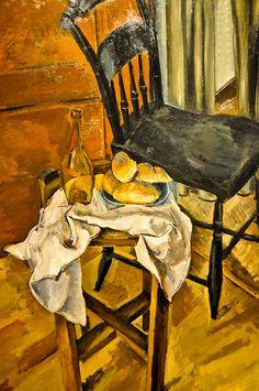 Max Weber - Black Chair, 1922 at the Virginia Museum of Fine Arts (VMFA) Richmond VA