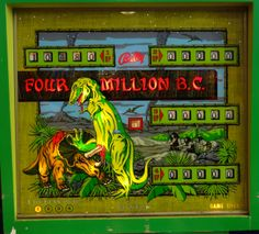 Four Million B.C. Bally, 1971.