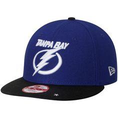 the latest 1caf2 c2979 Tampa Bay Lightning New Era Star Trim Commemorative Championship 9FIFTY  Snapback Adjustable Hat - Blue Black