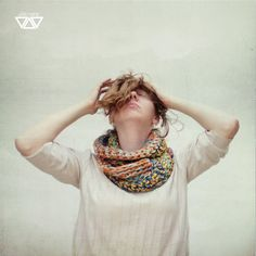 colorwarmer the fourth  biggy crochet cowl by diEnes on Etsy, €19.00