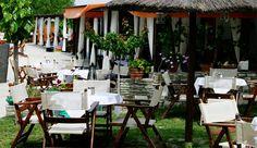 ANTIGONI BEACH HOTEL  Halkidiki hotel Beach Hotels, Table Decorations, Furniture, Home Decor, Decoration Home, Room Decor, Home Furnishings, Home Interior Design, Dinner Table Decorations