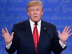 Trump diz que decidirá 'na hora' se aceita resultado da eleição