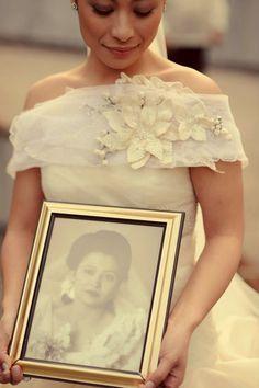 VELUZ bride   very touching !