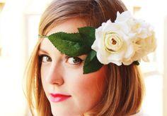 Craft Time: DIY Hair Accessories: goddess headband for halloween