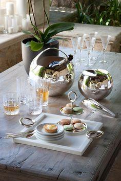 Christofle – Bulle d'Argent. Champagne Cooler