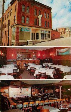 1950's CRIPPLE CREEK COLORADO Imperial Hotel postcard 3297