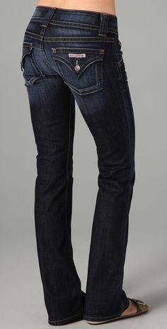 Hudson Petite Signature Boot Cut Jeans