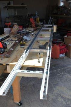 Granberg Alaskan MKIII Chainsaw Mill Rails