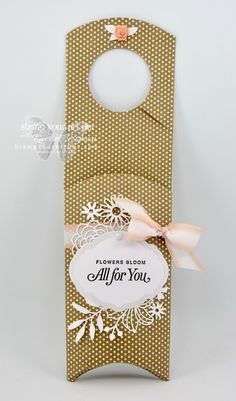Flowers For You Hanging Pillow Box - Stamp Your Art Out! Fun Fold Cards, Folded Cards, 70th Birthday Card, Laser Cut Paper, Online Paper, Flowers For You, Pillow Box, Paper Pumpkin, Ink Pads