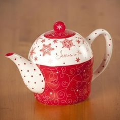 Jesus is the Gift Teapot and (2) Mugs by DaySpring, http://www.amazon.com/gp/product/B006KL4JAA/ref=cm_sw_r_pi_alp_yAwXqb19PGR13