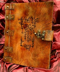 Necronomicon Grimoire of the Demon Hunter by MrZarono on DeviantArt