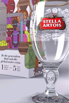 Stella Artois presents the 2017 Uganda Chalice, featuring the beautiful art of Eria Nsubuga. As water is the most important ingredient in our beer, we have always appreciated its impact and value. You can join Stella Artois and water.org to help end the global water crisis for the millions of people suffering from it. For every Chalice purchased, you will give the gift of 5 years of clean drinking water - and better health and quality of life - to someone in need. #1Chalice5Years