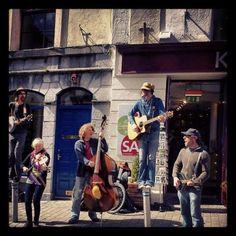 Street Musicians, Galway