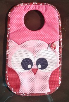 Pochette Portable, Sewing Crafts, Sewing Projects, Sewing Circles, Backpack Pattern, Owl Patterns, Patch Quilt, Felt Fabric, New Baby Gifts