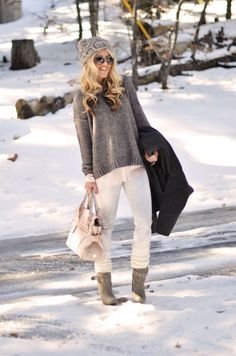 #outfit in the #snow... #fashion