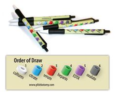 Nurses Discover Order of Draw retractable pens - Order of Draw retractable pens - Package of 10 Medical Careers, Medical Humor, Medical Assistant, Medical Technology, Technology Articles, Energy Technology, Technology Gadgets, Nursing School Tips, Medical School