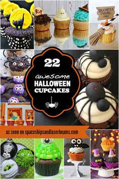 Halloween Cupcakes Kids' Party Food