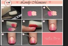 How to nail art. Looks like something I could even do