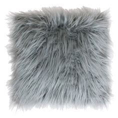 Fall for the fluffy faux fur front and micromink back of the Thro by Marlo Lorenz Keller Faux Mongolian Fur Square Pillow with Micromink Back . Oversized Pillows, Fur Throw Pillows, Faux Fur Throw, Accent Pillows, Decorative Throw Pillows, Decor Pillows, Cricut, Estilo Hollywood Regency, Mongolian Fur Pillow