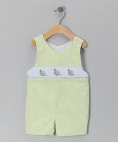 Take a look at this Green Snail John Johns - Infant & Toddler by Sweet Teas Children's Boutique on #zulily today!
