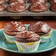 World's Best Chocolate Oatmeal Cupcakes.  Plus, to-die-for frosting.