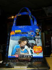How to make a bag out of a pet food bag!!