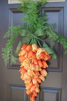 Carrot Wreathgoodhousemag
