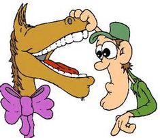 een gegeven paard niet in de bek kijken
