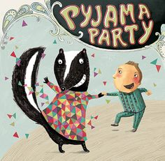 Pyjama Party by Bïa Pyjamas Party, Pajamas, Elodie Frégé, Barnyard Animals, Illustrations, Try It Free, Classical Music, Crime, Cool Things To Buy