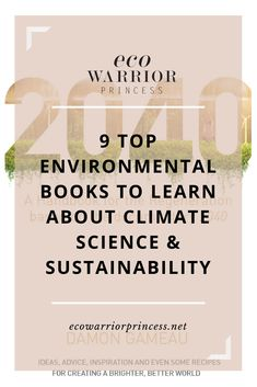 Want to learn more about climate change and sustainability? This list of environmental books is a good place to start. Science 9 Environmental Books to Learn about Climate Change & Sustainability Environmental Challenges, Environmental Education, Environmental Science, Science Books, Science Fair, Life Science, Computer Science, Reading Lists, Book Lists