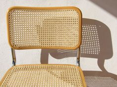 Vintage Cesca chairs by Marcel Breuer