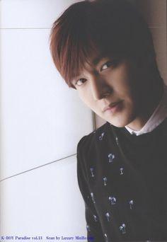 Lee Min Ho – Japanese magazine