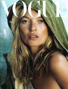 love this vouge cover of kate moss